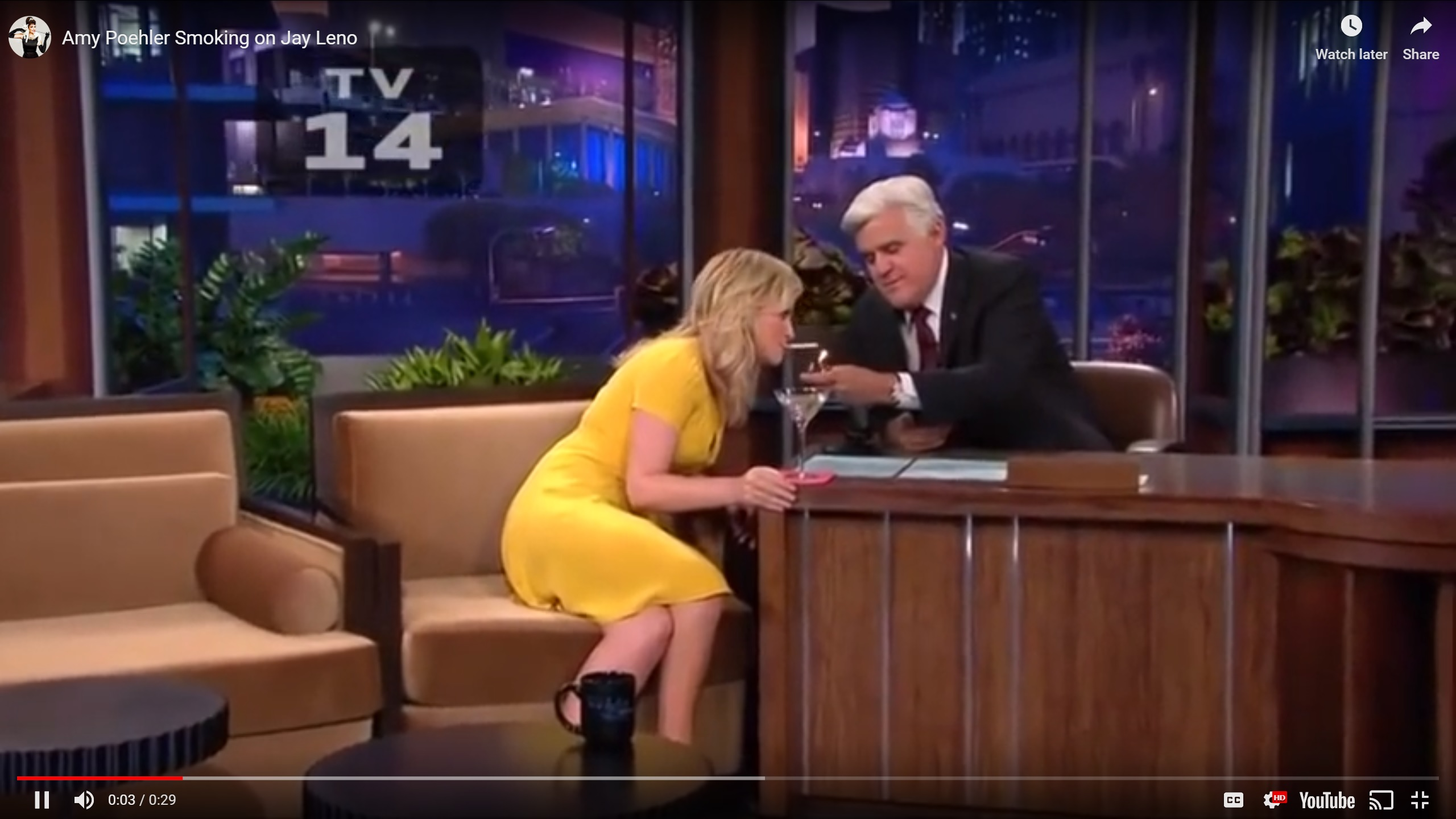 amy pohler jay leno show about fappening